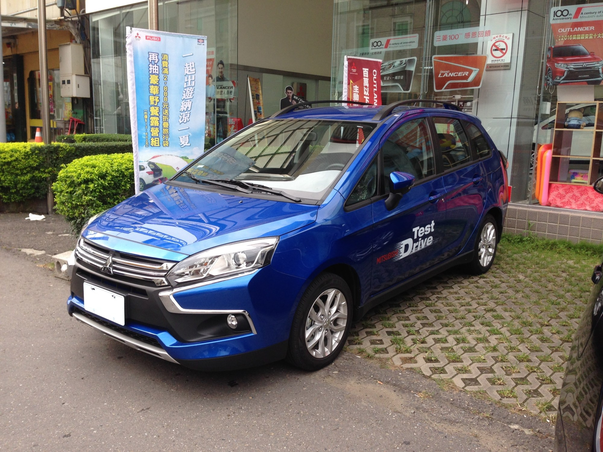 hight resolution of redesigned mitsubishi colt plus 2017 present taiwan only