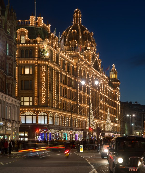 Harrods London Christmas
