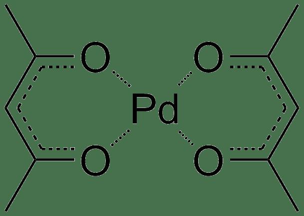 PalladiumII acetylacetonate  Wikipedia