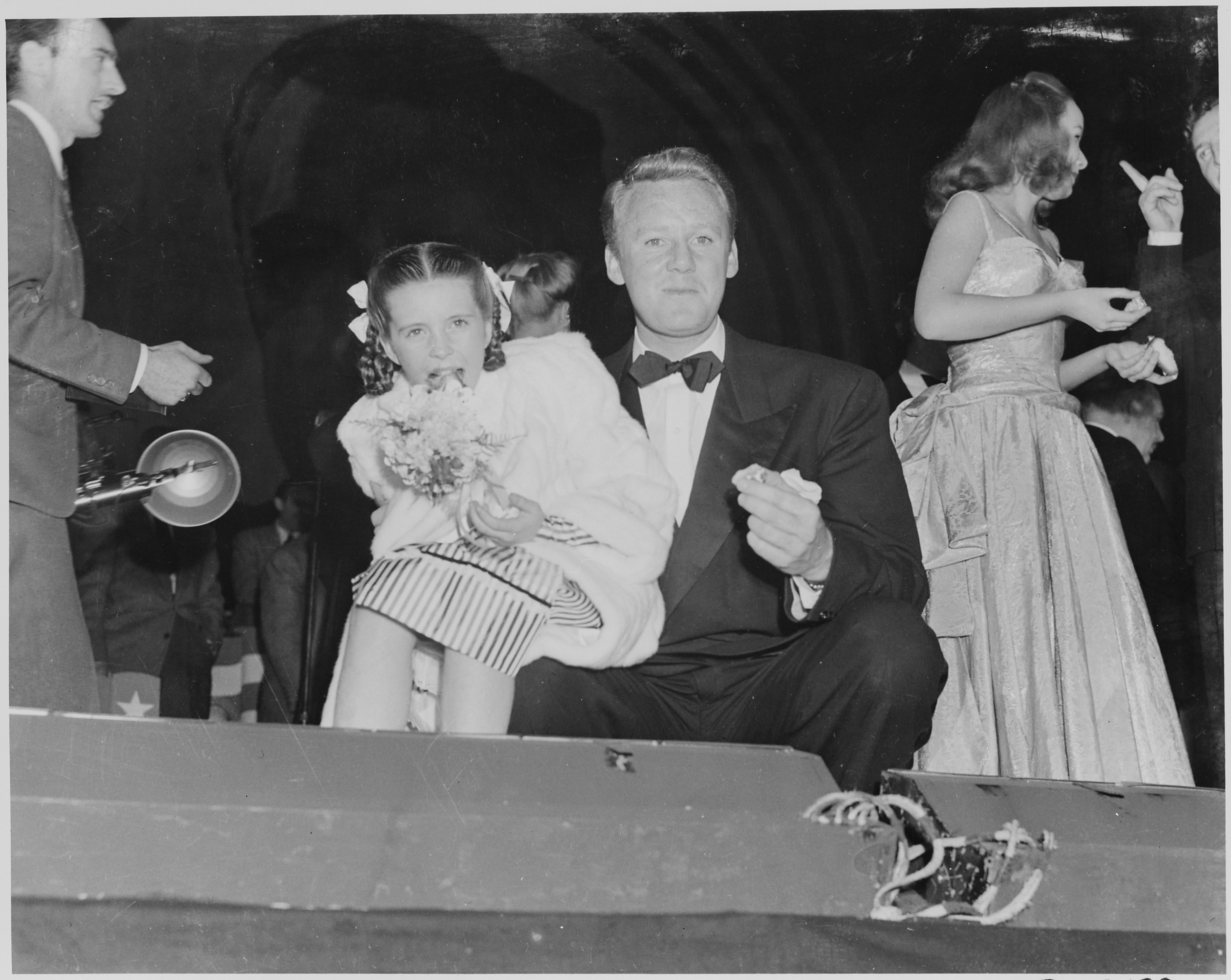 FilePhotograph of movie star Van Johnson with actress