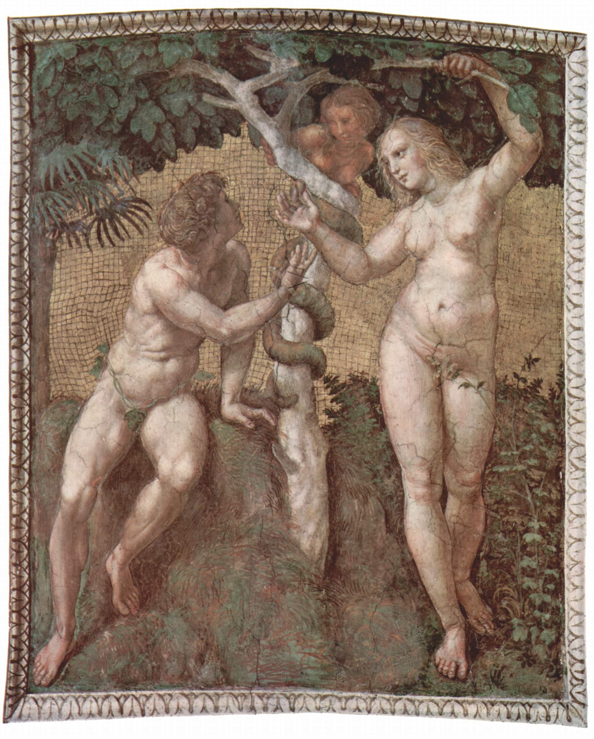 Raphael: Adam and Eve