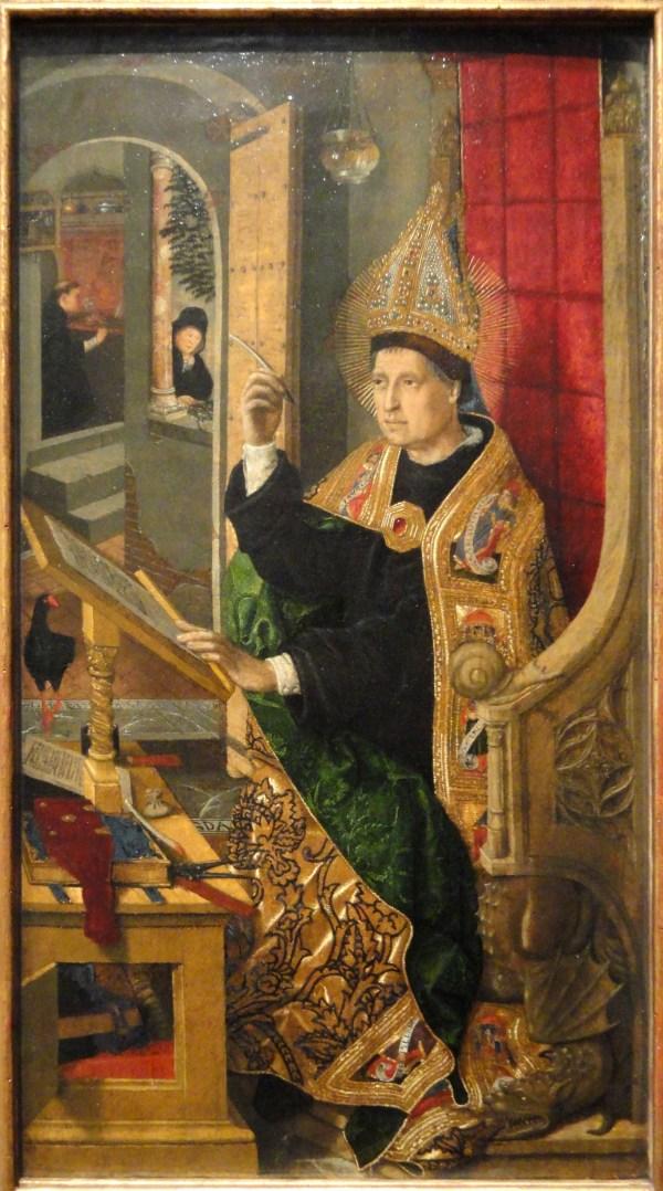 File Saint Augustine 1477-1485 Bartolome Bermejo