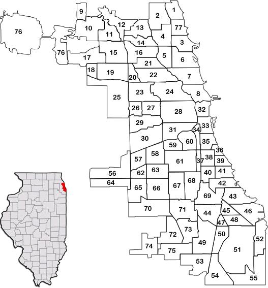 Chicago ZIP Codes Map Chicago Neighborhoods, REMAX CITY