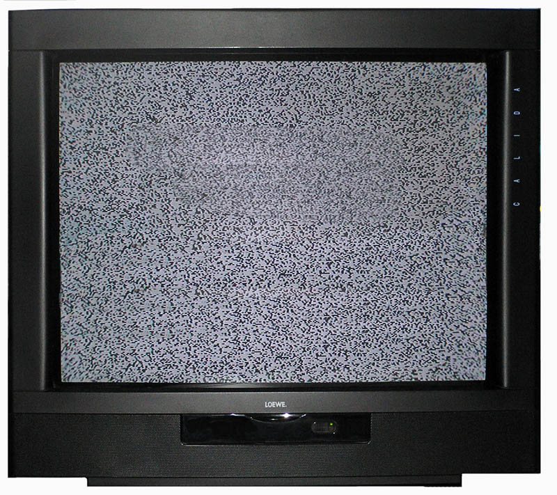 Un televisore. Licenza GNU 1.2