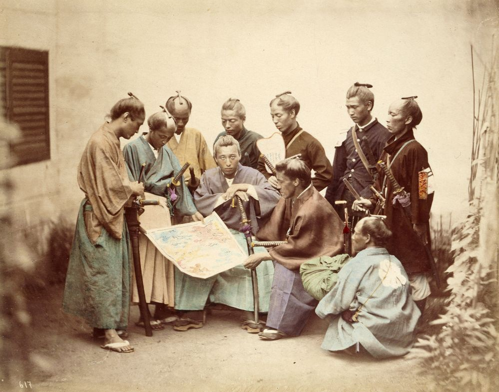 Felice Beato - Samurai during Boshin War
