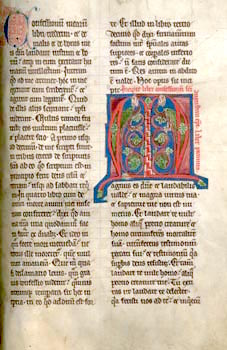 A 13th century manuscript from Augustine's boo...
