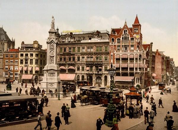 FileDam square Amsterdam North Holland the Netherlands