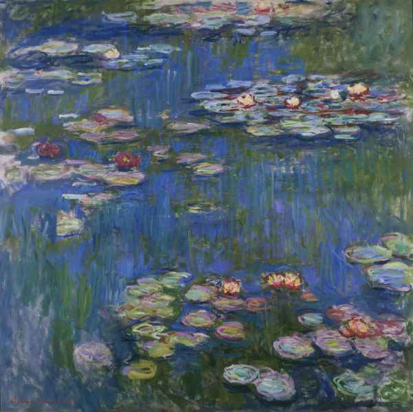 Claude Monet, Water Lilies, 1916, The National...