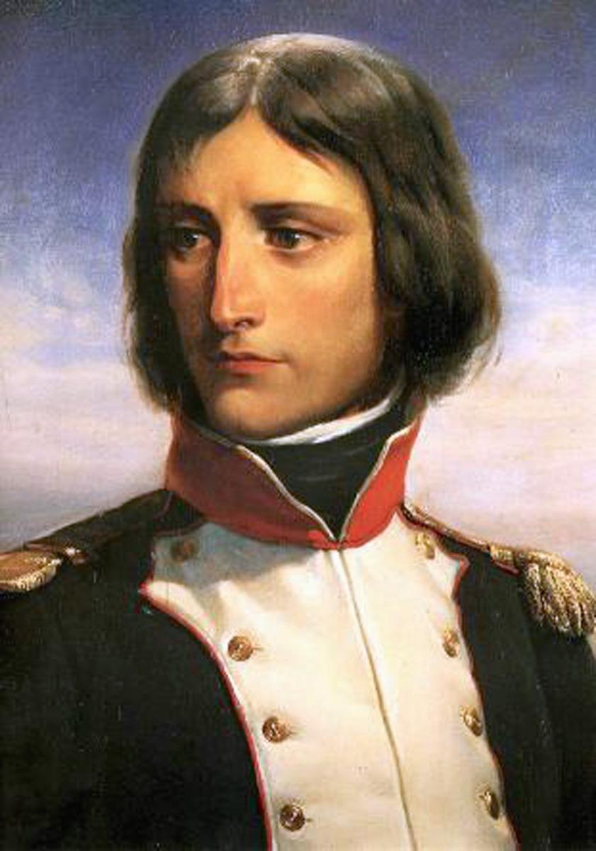 Napoleon Bonaparte, aged 23, Lieutenant-Colonel of a battalion of Corsican Republican volunteers.