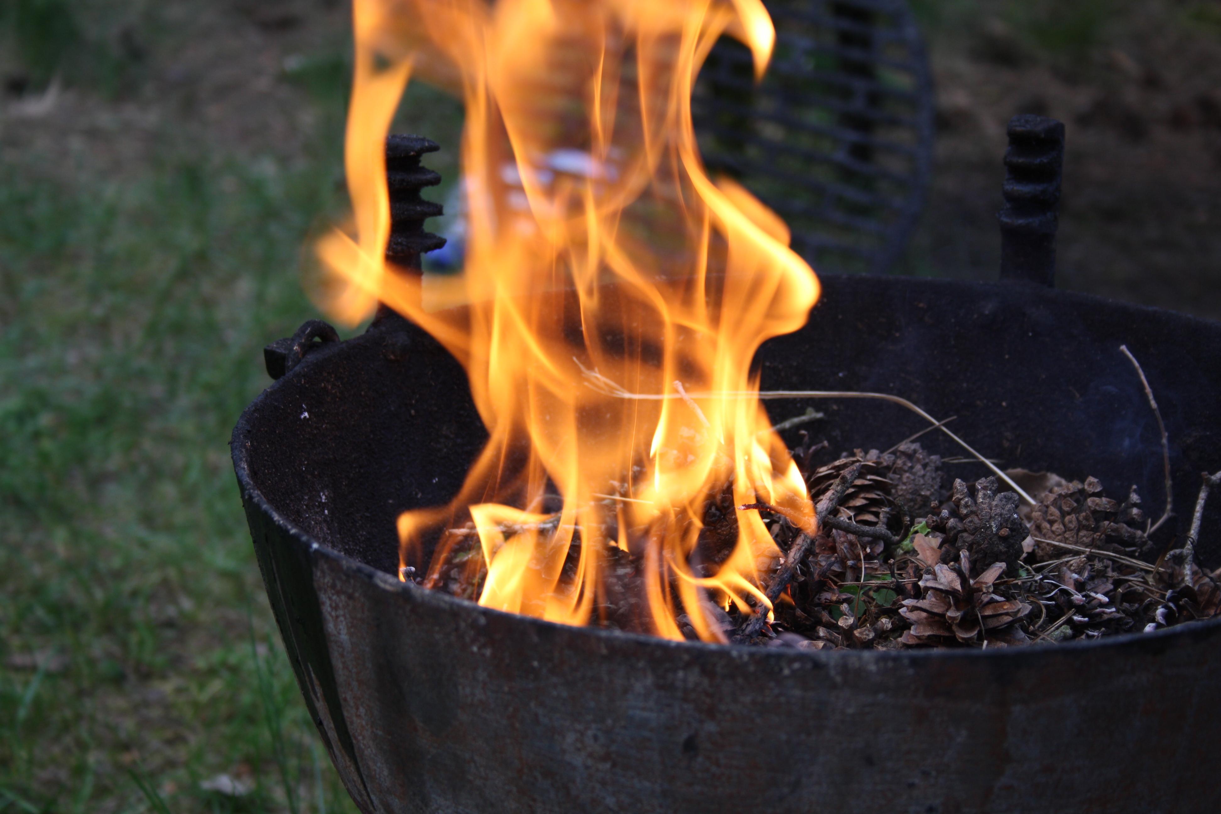 file preparing grill for