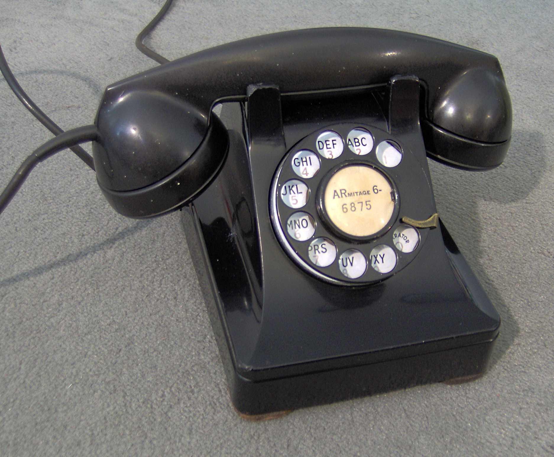 hight resolution of model 302 telephone