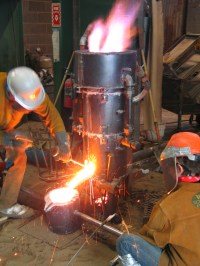 File:Cupola Furnace Iron.JPG - Wikimedia Commons