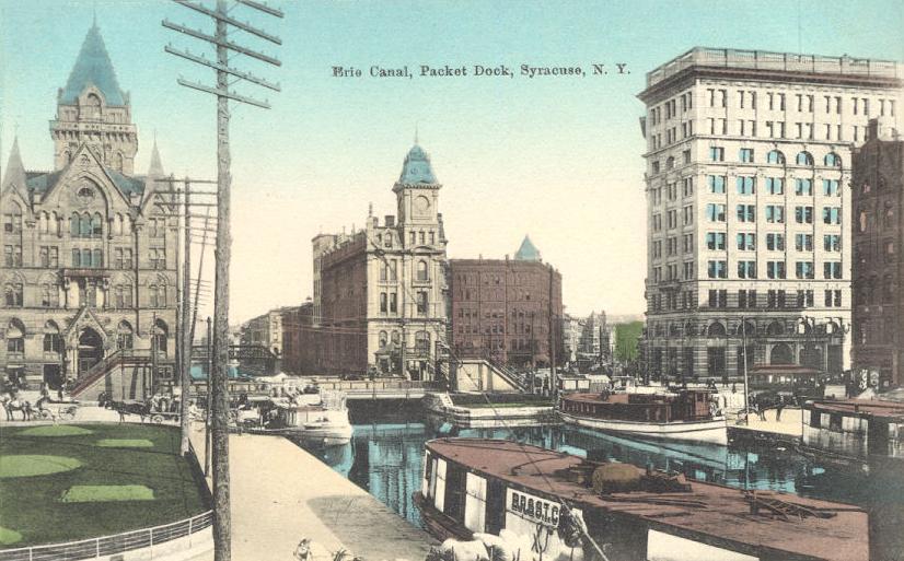FileErie Canal Packet Dock Syracuse NYjpg  Wikipedia