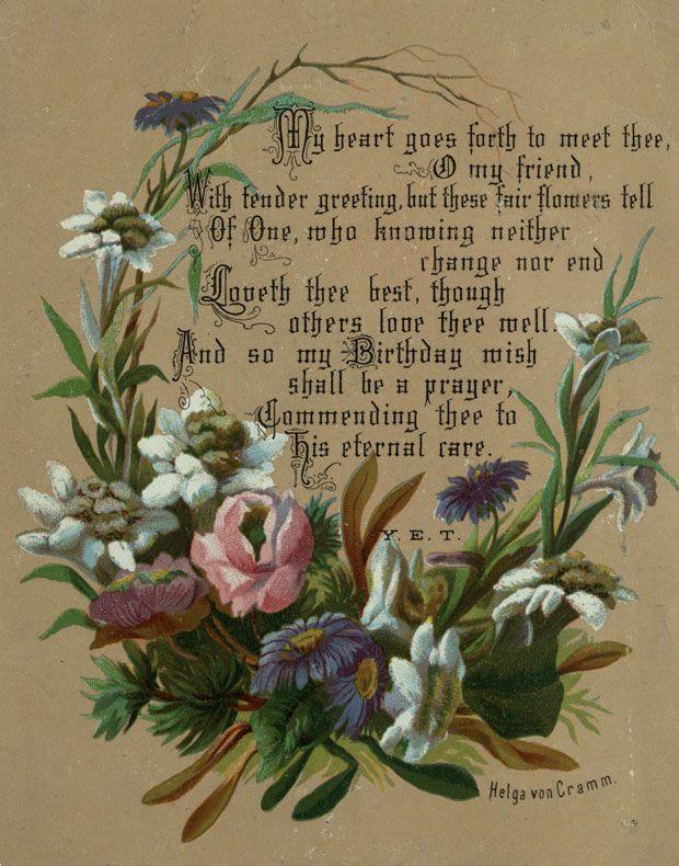 File Helga Von Cramm Chromolithograph Birthday Wish Card