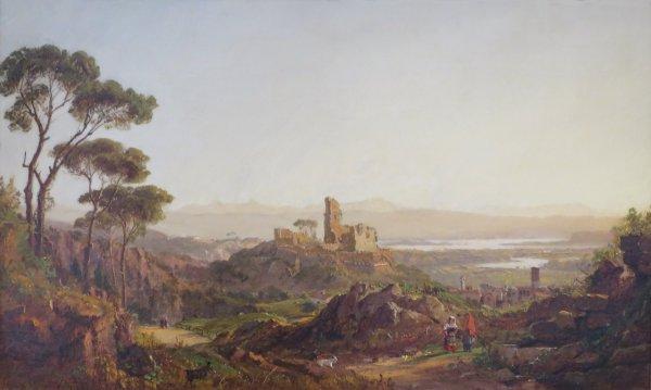 File Ruins Narni Italy Jasper Francis Cropsey 1875