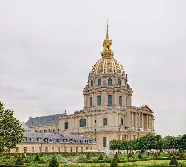 Dome of the Les Invalides Paris