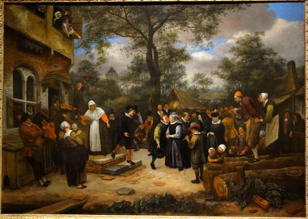 File Village Wedding Jan Steen 17th Century Oil