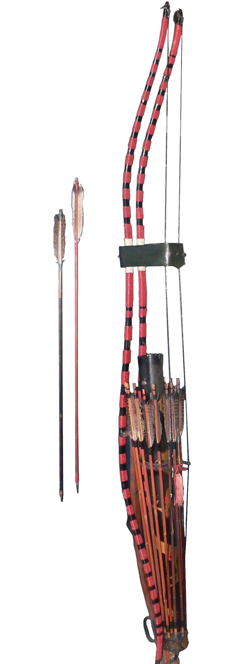 hight resolution of edo period s bow and arrow japanese bow