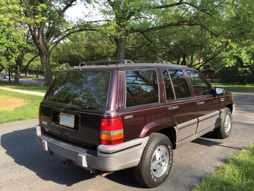 small resolution of file 1993 jeep grand cherokee laredo blackberry with crimson interior 02 jpg
