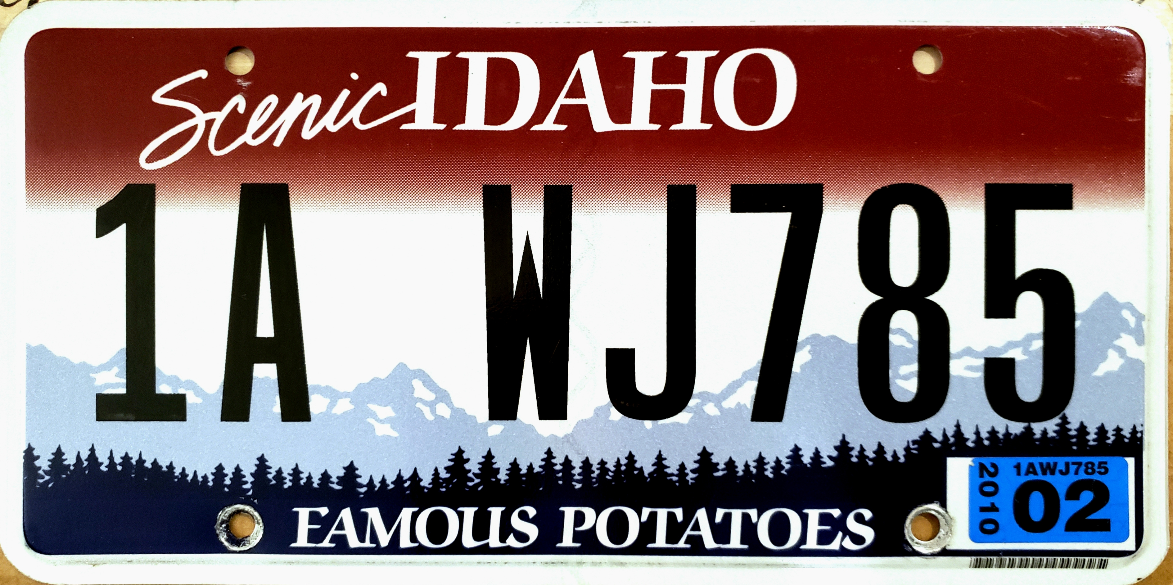 United States license plate designs and serial formats