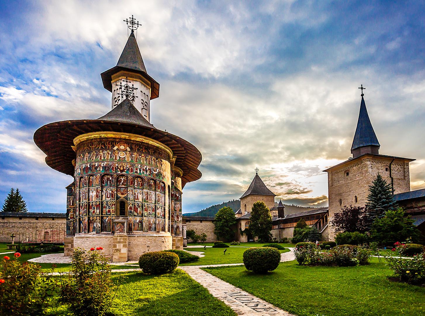 Sucevia Monastery  Wikipedia