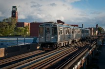 File Cta Brown Line Train In - Wikimedia