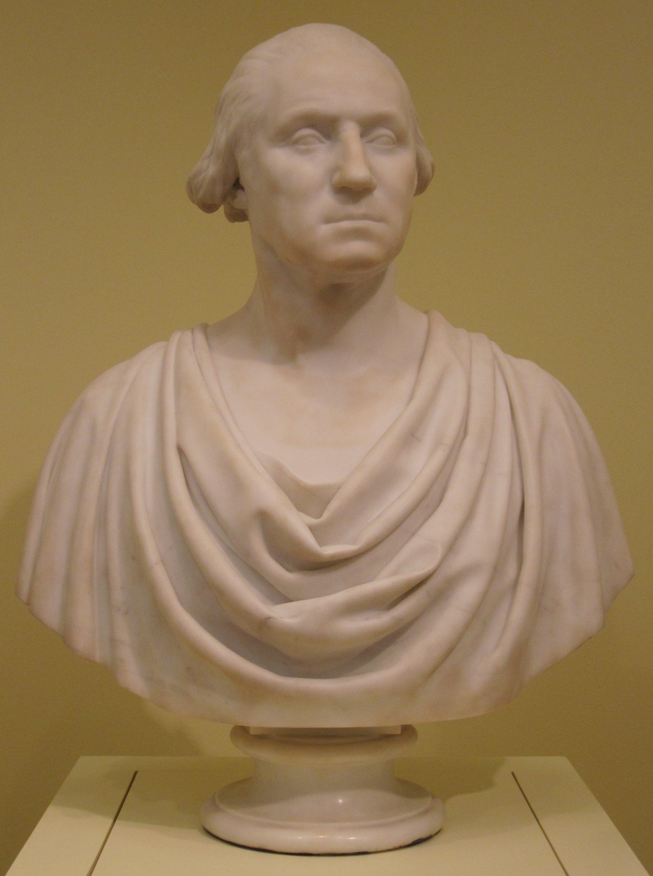 FileHiram Powers Marble Bust Of George Washington C