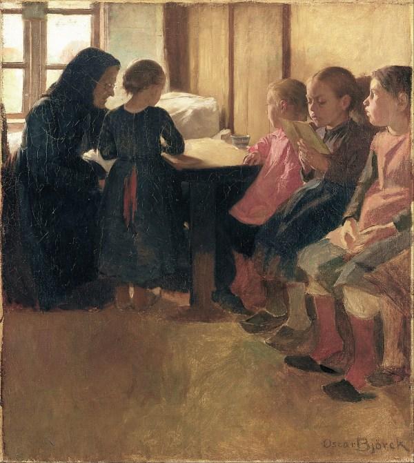File Oscar Bjrck - Madam Henriksen' School Girls In