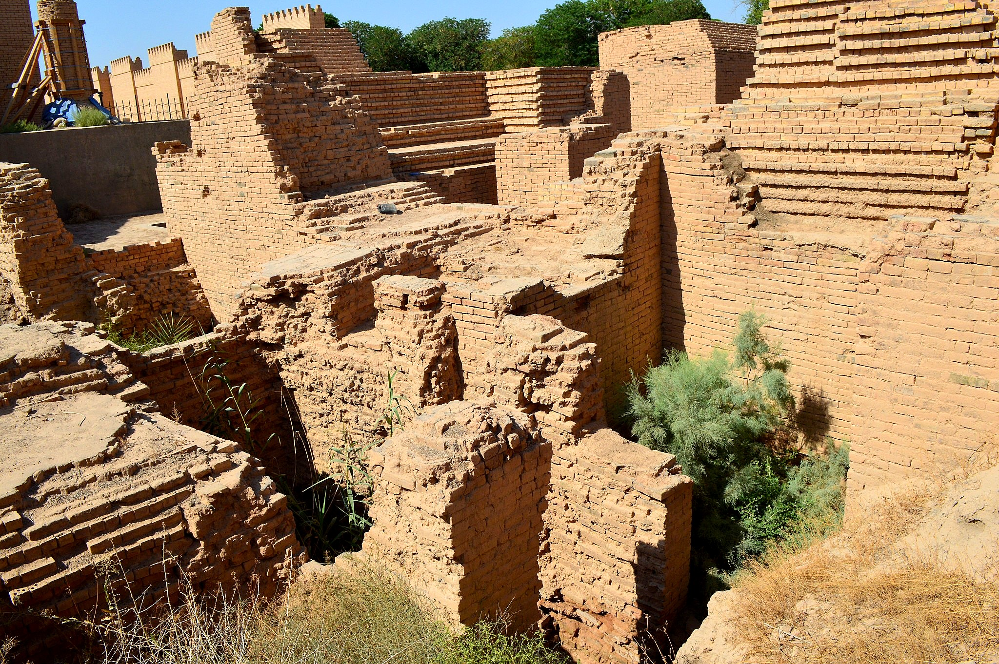 File Ruins Of The Ancient City Of Babylon In Mesopotamia