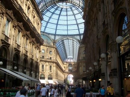 Galleria Vittoria, Milan Italy