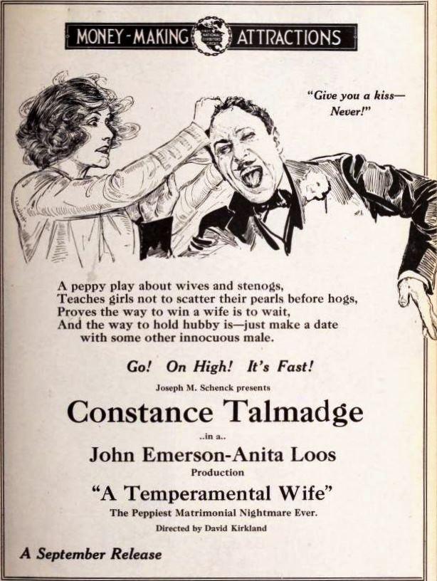 A Wife's Nightmare Wiki : wife's, nightmare, File:A, Temperamental, (1919), 11.jpg, Wikimedia, Commons