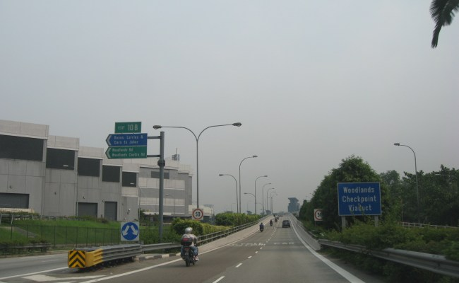 File Bke Woodlands Checkpoint Viaduct Jpg Wikimedia Commons