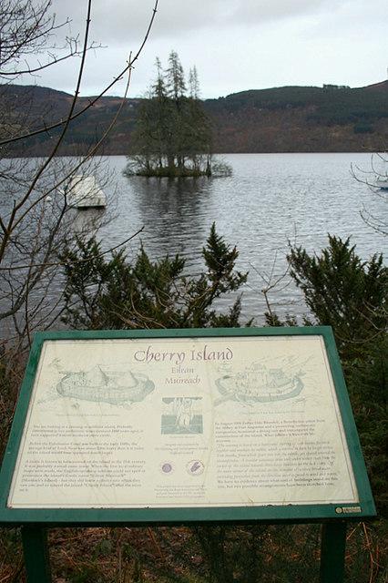 Cherry Island Loch Ness Wikipedia