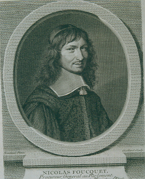 Engraving of Fouquet.