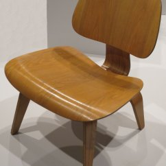 Eames Wood Chair High Back Cushion File Lcw Lounge By Charles And Ray