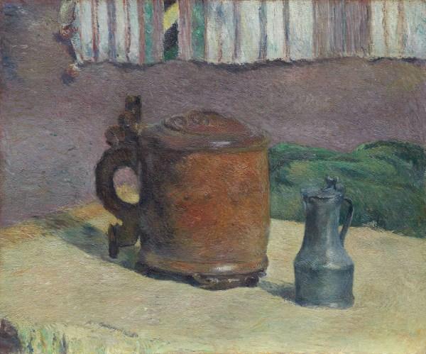 File Paul Gauguin - Life Wood Tankard And Metal