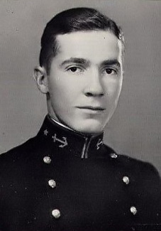 1929 Naval Academy yearbook photo of Robert Anson Heinlein