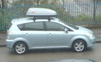 Toyota verso roof box