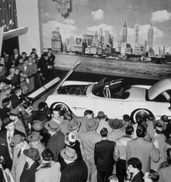 1953 chevrolet corvette displayed at the 1953 gm motorama car show  [ 2700 x 1913 Pixel ]
