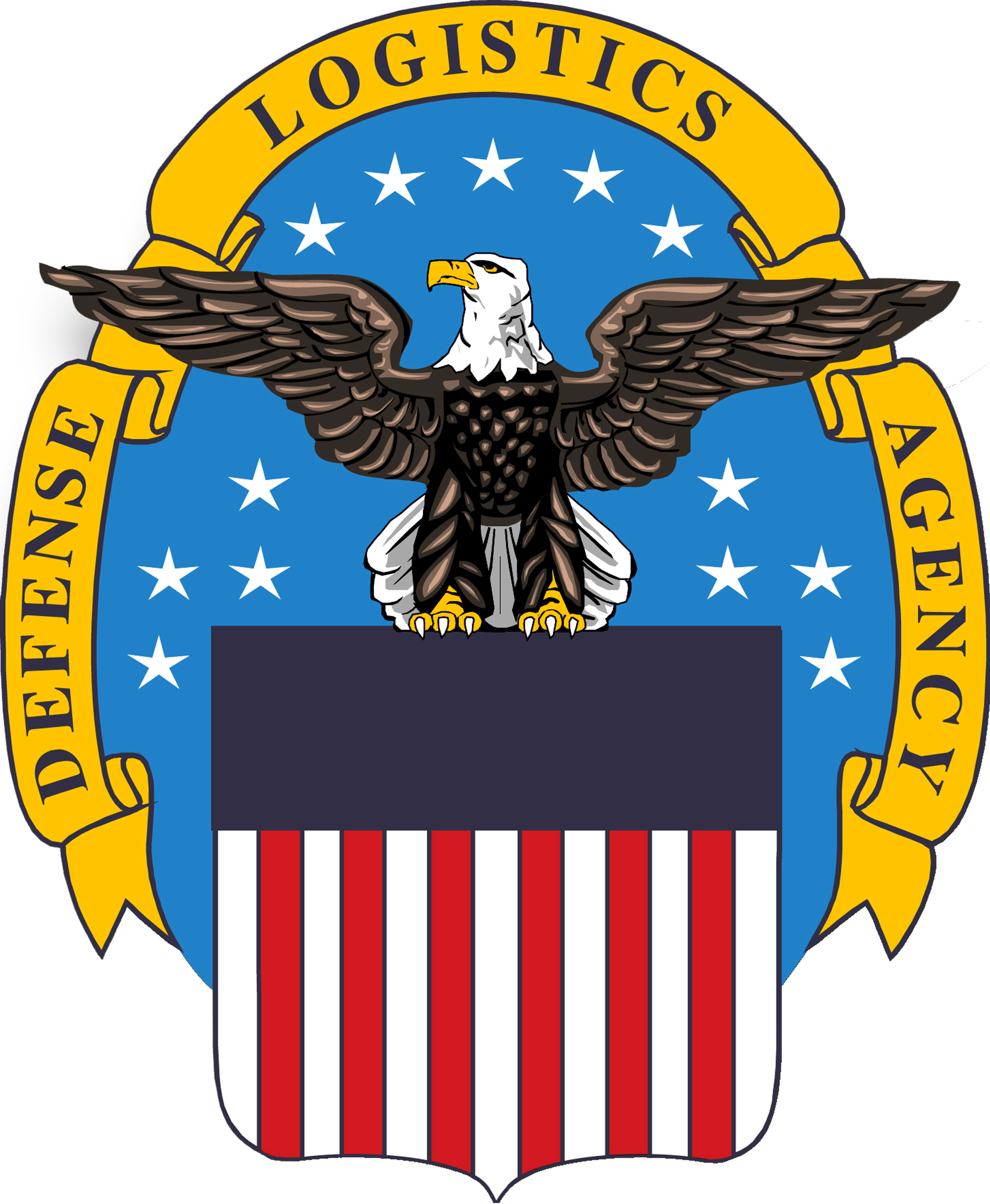 English: Defense Logistics Agency crest from h...