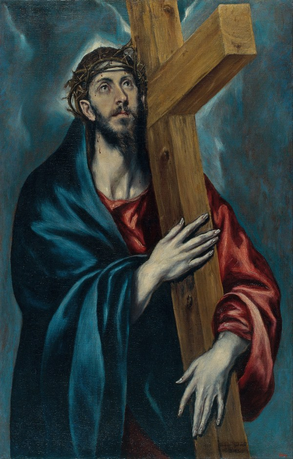 El Greco Painting Christ Carrying the Cross