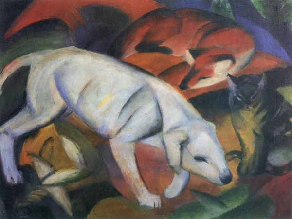 Franz Marc Dog Fox Cat and AAA