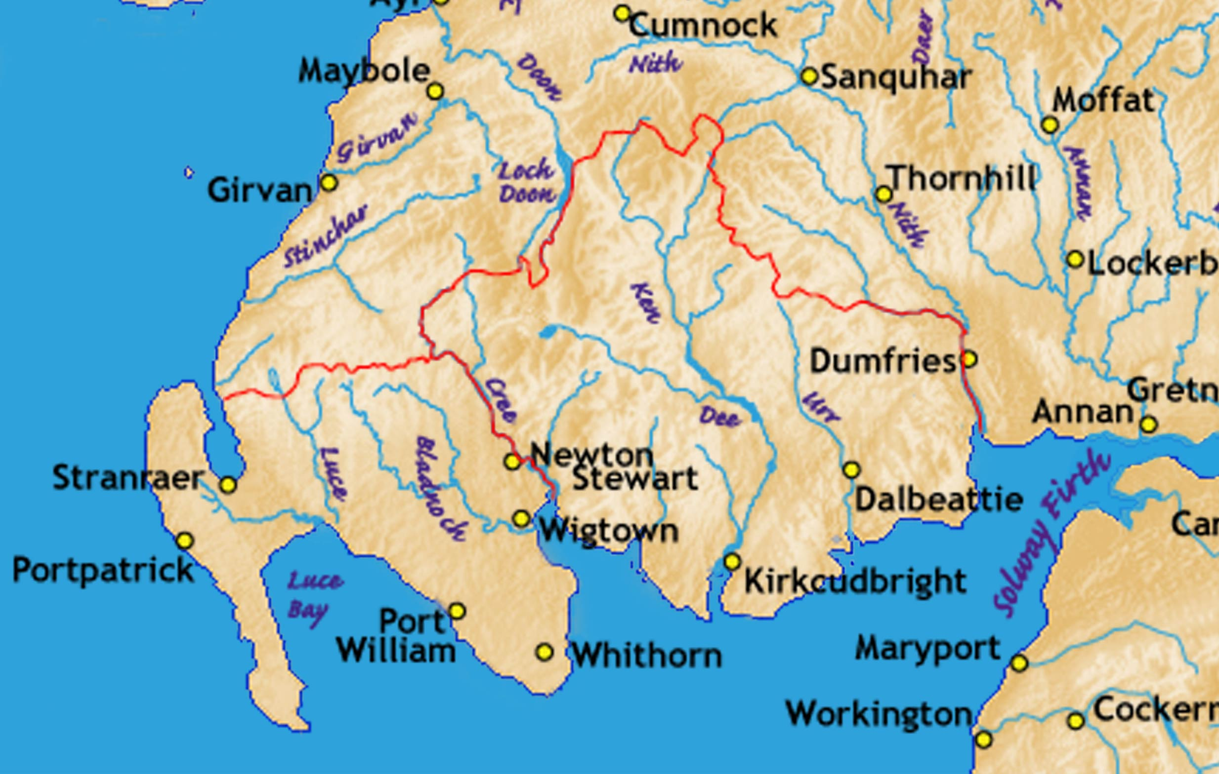 Whithorn in Galloway