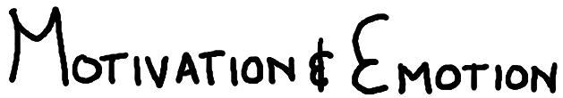 """English: Handwritten words: """"Motivation &..."""