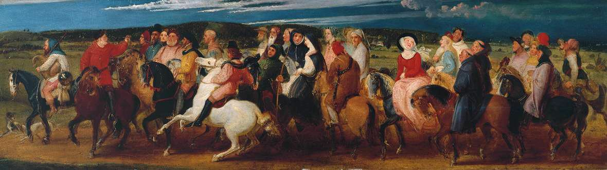 The Pilgrimage to Canterbury by Thomas Stothard, 1806-7