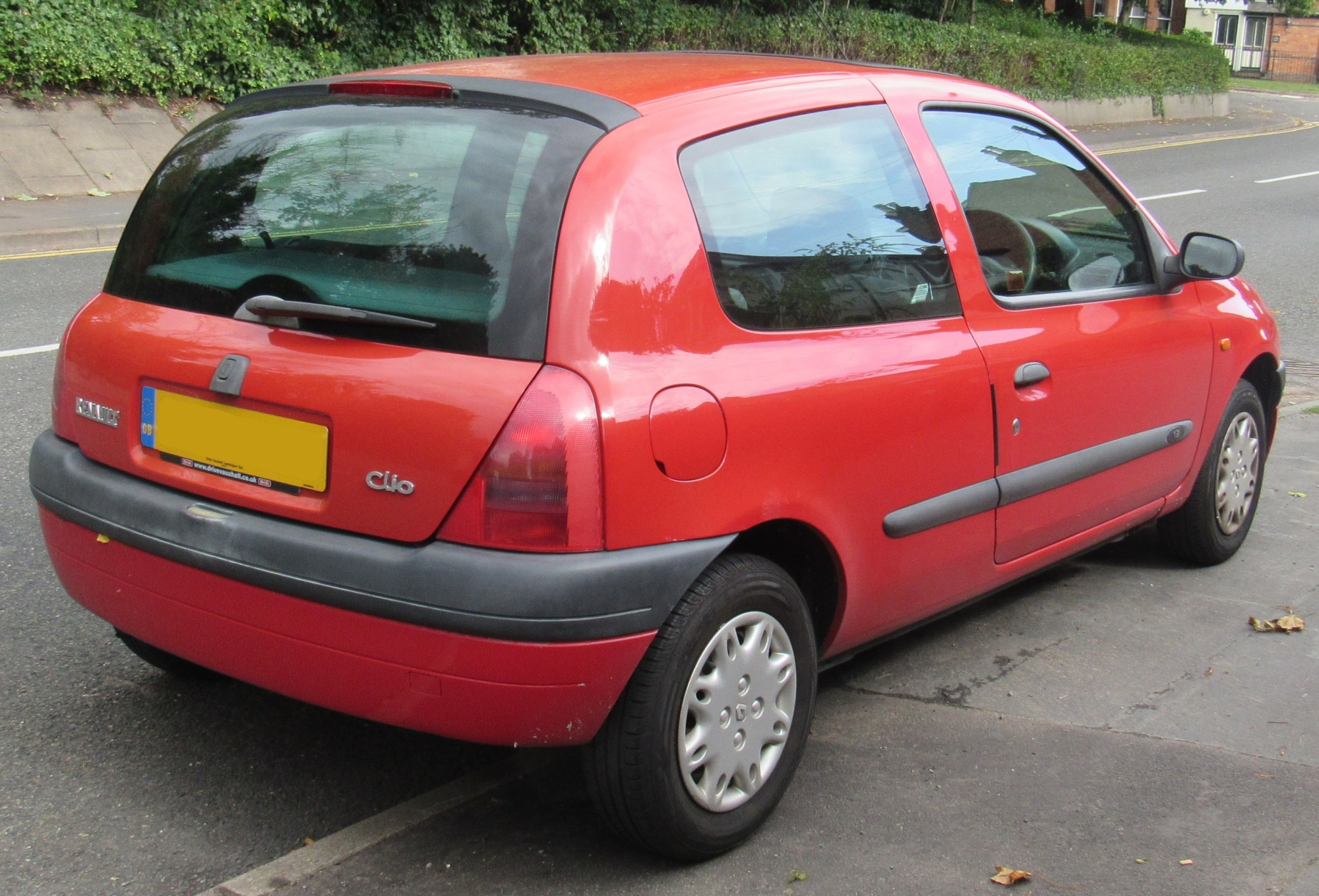 hight resolution of renault clio ii pre facelift