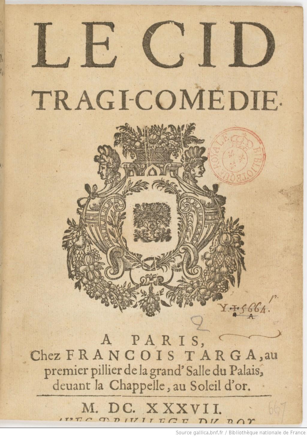 Le Cid De Corneille Résumé : corneille, résumé, (Corneille), Wikipédia