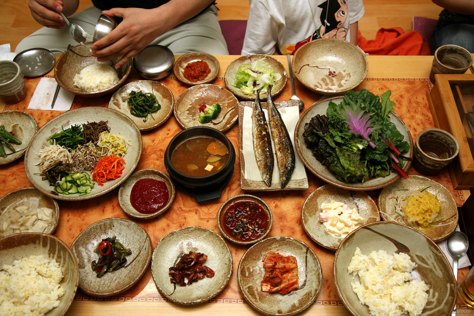 Korean Restaurant Interior Design