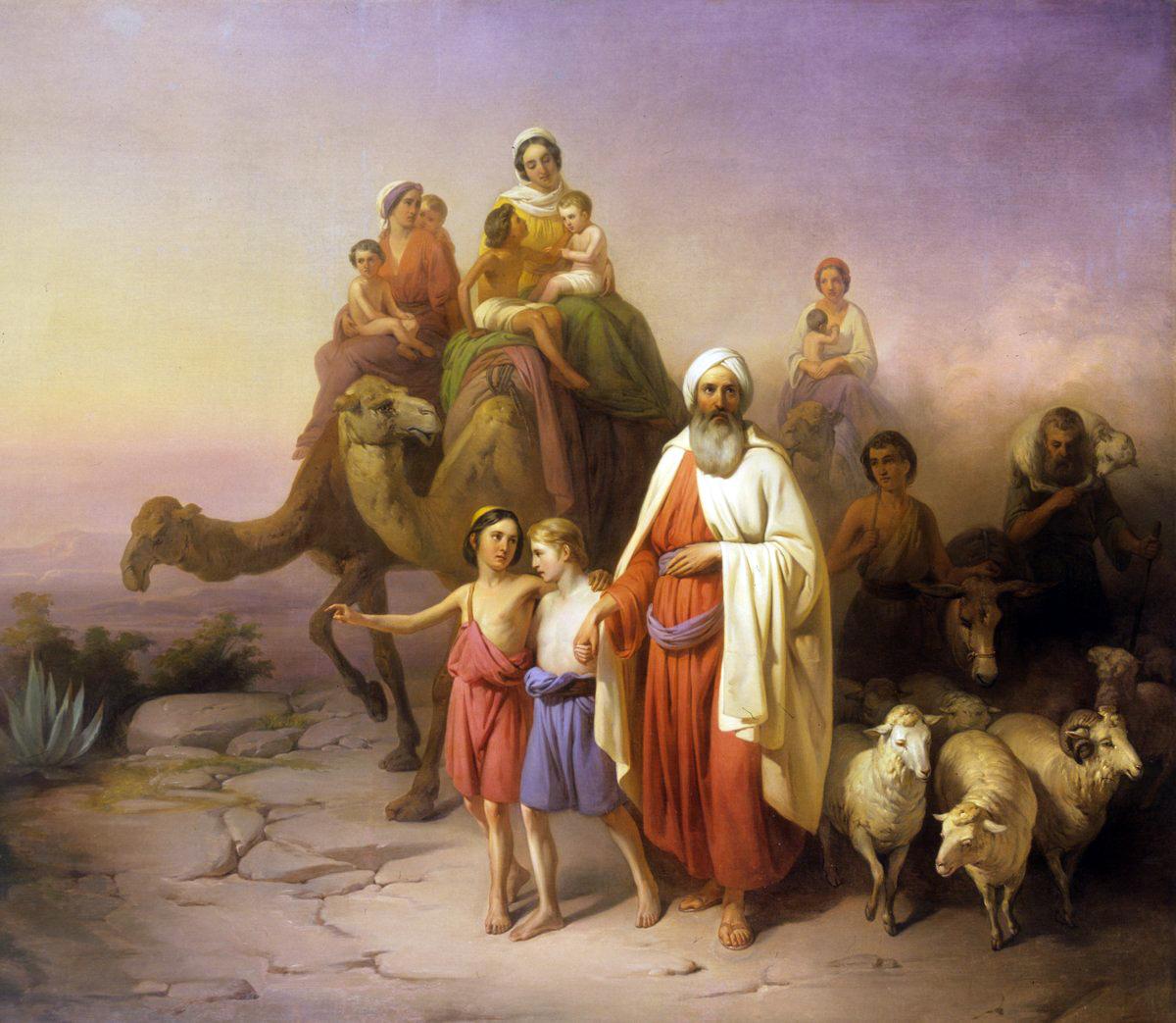 아브람과 사래 하란을 떠나다
