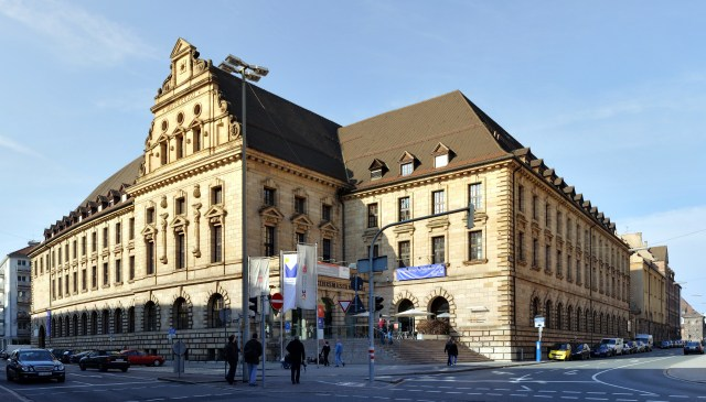 Nürnberg Transport Museum (DB Museum) by Wikimedia
